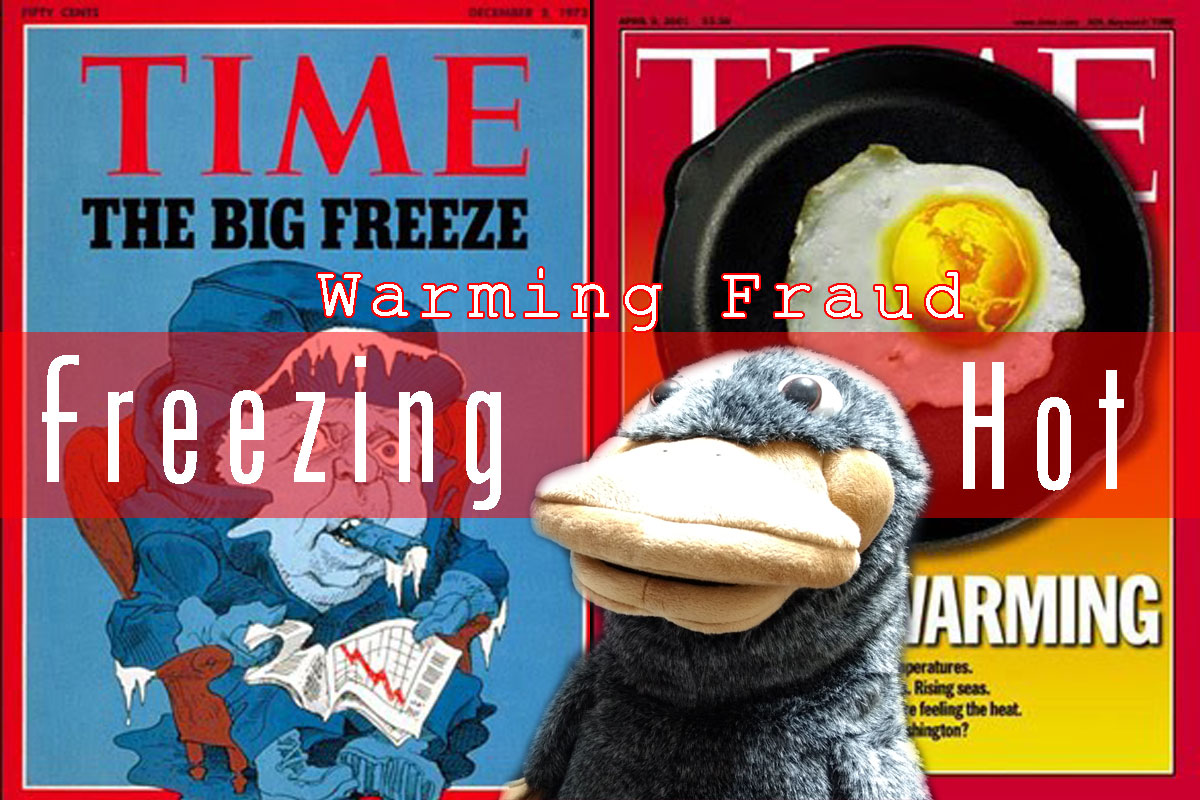 global cooling – The Government is a Platypus